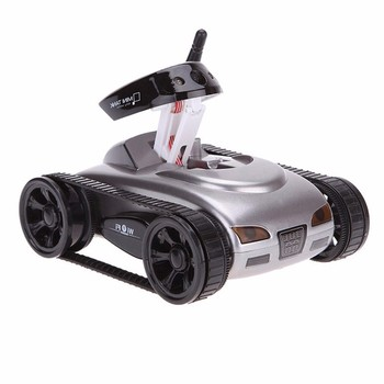 Tank toy with mini camera phone WiFi remote intelligent real-time transmission video car