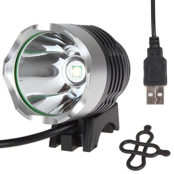 Securitying Vente 1200 Lumen XM-L T6 LED Vélo Lumière Vélo lumière Pour Vélo Vélo Vélo Vélo Waterpoof Avant Light & USB