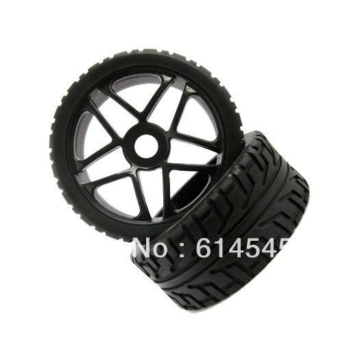 85B-803  4PCS RC 1/8 Off-Road Car Buggy 17mm Hub Wheel Rim & Tires,Tyre For HSP 85B-803 cтеппер bs 803 bla b ez