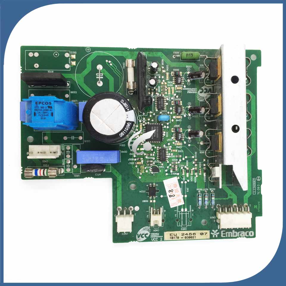 95% new Original good working for refrigerator BCD-287DVC module board EU 2456 07 inverter board driver board 95% new original for refrigerator inverter board computer board vcc3 0193525047 tested working