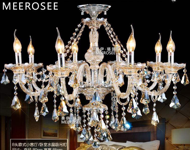 Mini Kristall Kronleuchter In Einer Glühbirne ~ Cognac kristall kronleuchter lampe glas arme kronleuchter