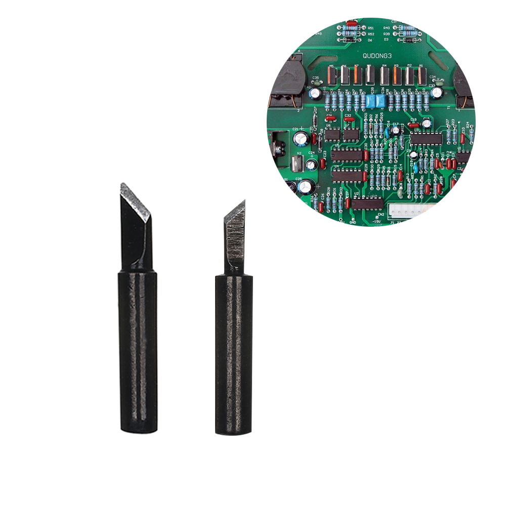 14PCS BLACK Solder Iron Tip 900M-T-K For Hakko 936 fx888//888D SAIKE 909D//852 CXG