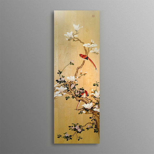 BNQJ 100% Hand Painted Traditional Chinese Painting Flower Mangnolia ...