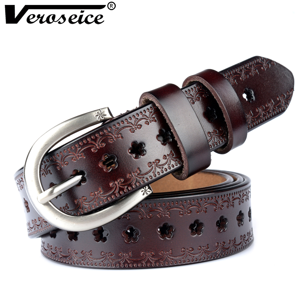 [Veroseice] Drop Shipping New Genuine Leather Womens
