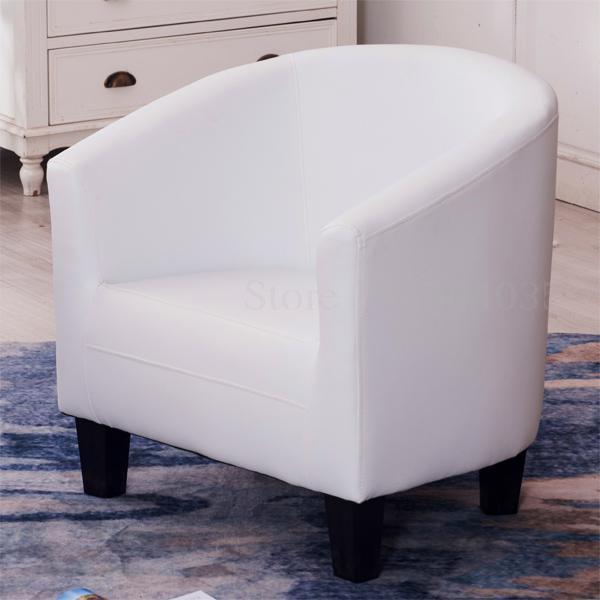 Европейский тканевая одноместная Софа стул интернет кафе кофе небольшой диван гостиничная комната кабинет компьютерный диван стул - Цвет: VIP 27