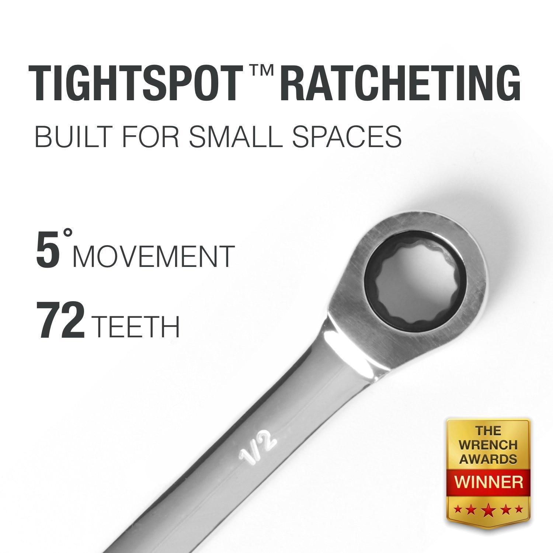 Ráčna na klíč Ruční nářadí pro autoopravárenství 72 jemných zubů s těsnými mezerami Sada klíčů klíčů klíčové sady