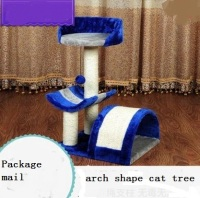 Cat toy cat tree platform cat litter with observatory tease cats