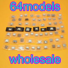 цена на 64 model Hot sale Charging Connector Micro USB for Samsung HP SONY HTC ZTE Xiaomi Huawei Lenovo ...
