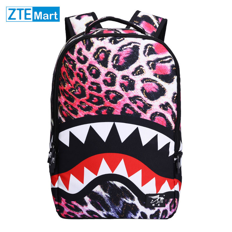 Aliexpress.com : Buy Top Quality 3D Leopard School Bag for Teen ...