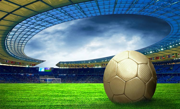 Esporte Tileable Papel De Parede Colorido: Esportes De Campo De Futebol Personalizado TV Fundo Papel