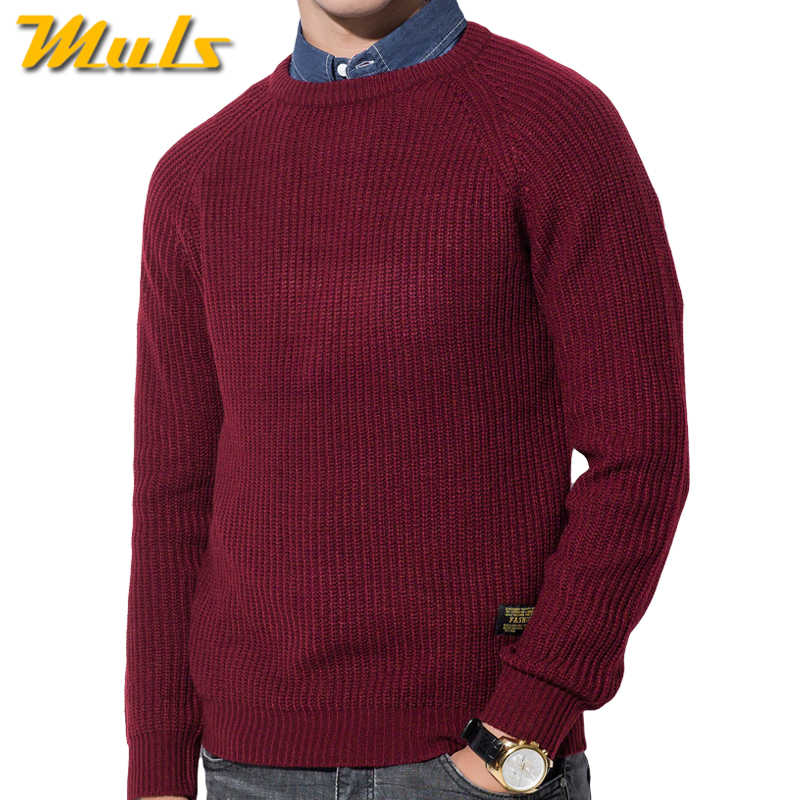 1bc448c61d038 3 вида цветов зимний мужской пуловер свитера теплый толстый свитер мужской  осенний Вязаный Мужской Пуловер Джемпер