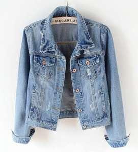 cowboy Formal Coat Women s Design Jacket Denim Outerwear af65b67e8
