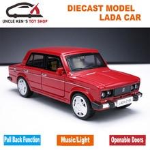 Factory Outlet Vaz Model Car 1: 32 Scale Vaz Diecast Car Toys for Kids Toys 1 32 scale alloy diecast car model kids toys 1 32 fast