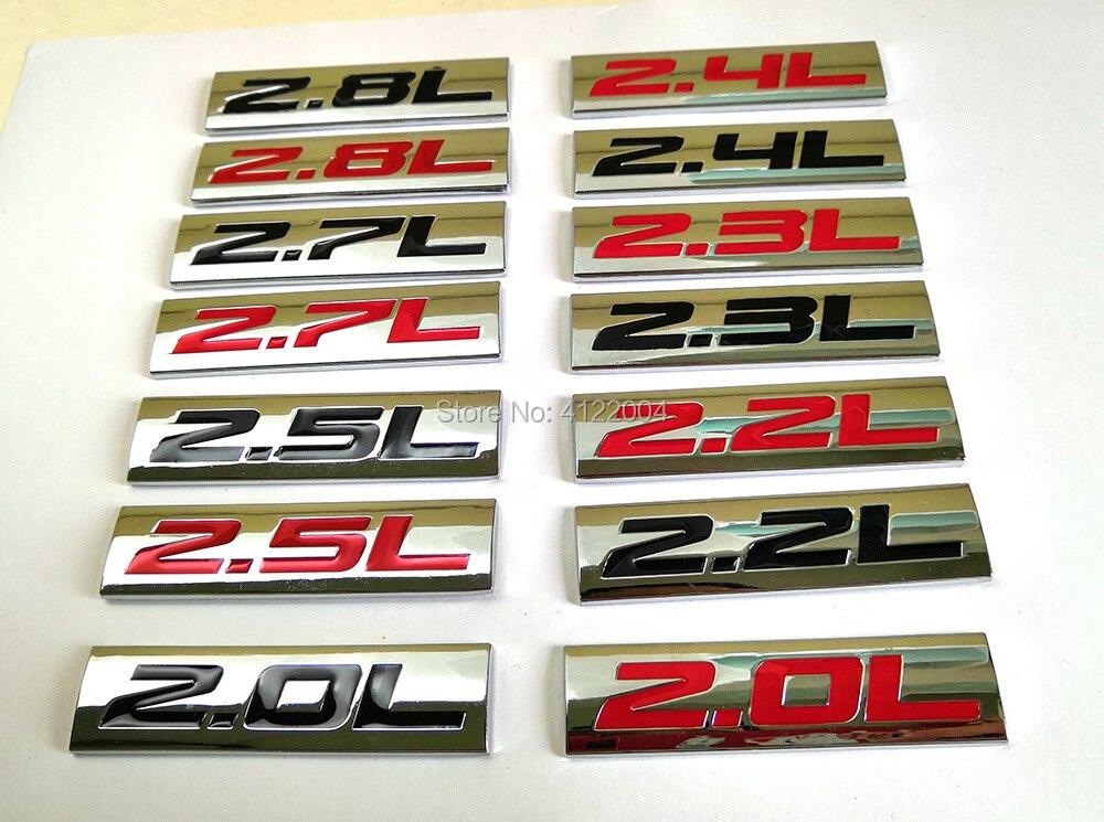 Энергетическая Эмблема для PEUGEOT, CITROEN, Renault, LADA, LIFAN, OPEL, SAAB, 2.0L, 2.2L, 2.3L, 2.4L, 2.5L, 2.7L, 2.8L