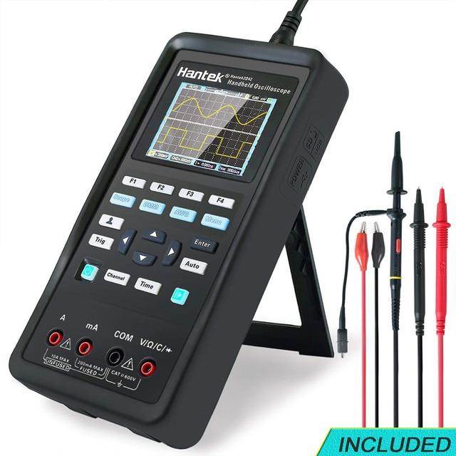 Hantek 3in1 Digitale Oszilloskop + Wellenform Generator + Multimeter 40mhz 70mhz USB Handheld 2 Kanal Multifunktions Osciloscopio