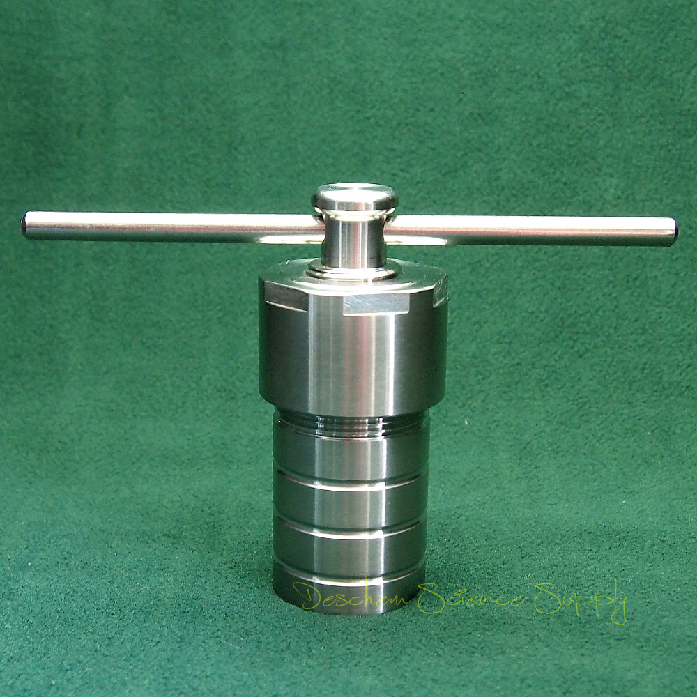 25ml PTFE lined Hydrothermal synthesis reactor Teflon lined Stainless Steel Vessel