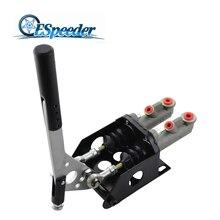 ESpeeder Универсальный алюминиевый Двойной Главный цилиндр гидравлический ручной тормоз рычаг Дрифт ручной тормоз E-brake гоночный автомобиль аксессуары