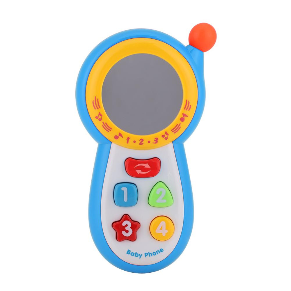 New Kids Mobile Toy Educational Musical Sound Cell Mobile Phone Child Study Musical Phone Toy Learning Toy Mobile Phone For Baby