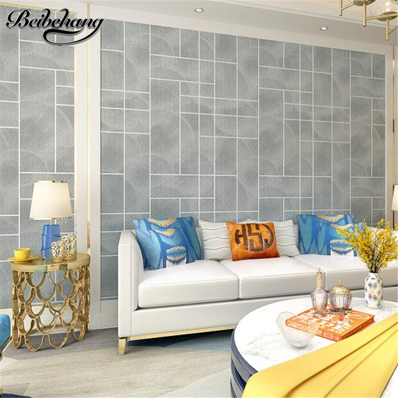 beibehang Thickened 3D Cubic Facade Simple Simple Deer Skinpot Non-woven Wallpaper Living Room TV Wall Wallpaper papel de paredebeibehang Thickened 3D Cubic Facade Simple Simple Deer Skinpot Non-woven Wallpaper Living Room TV Wall Wallpaper papel de parede