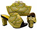 NEW Italian Shoe With Matching Bag Set For Party Top Quality Matching Shoes And Bags Italy New Design Shoe And Bag Set BCH-15