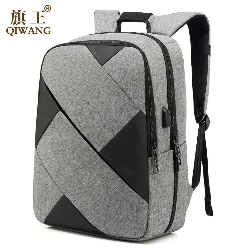 Fashion Backpack Patchwork USB Charging Backpack For 15.6 Inch laptop Backpacks backpack Men Women School Bag Travel Mochila все цены