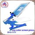 SPE11TY pulse la pantalla de un solo color máquina de impresión de pantalla de seda impresión de la pantalla de prensa