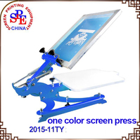 SPE11TY Single Color Screen Press Silk Screen Printing Machine Screen Printing Press