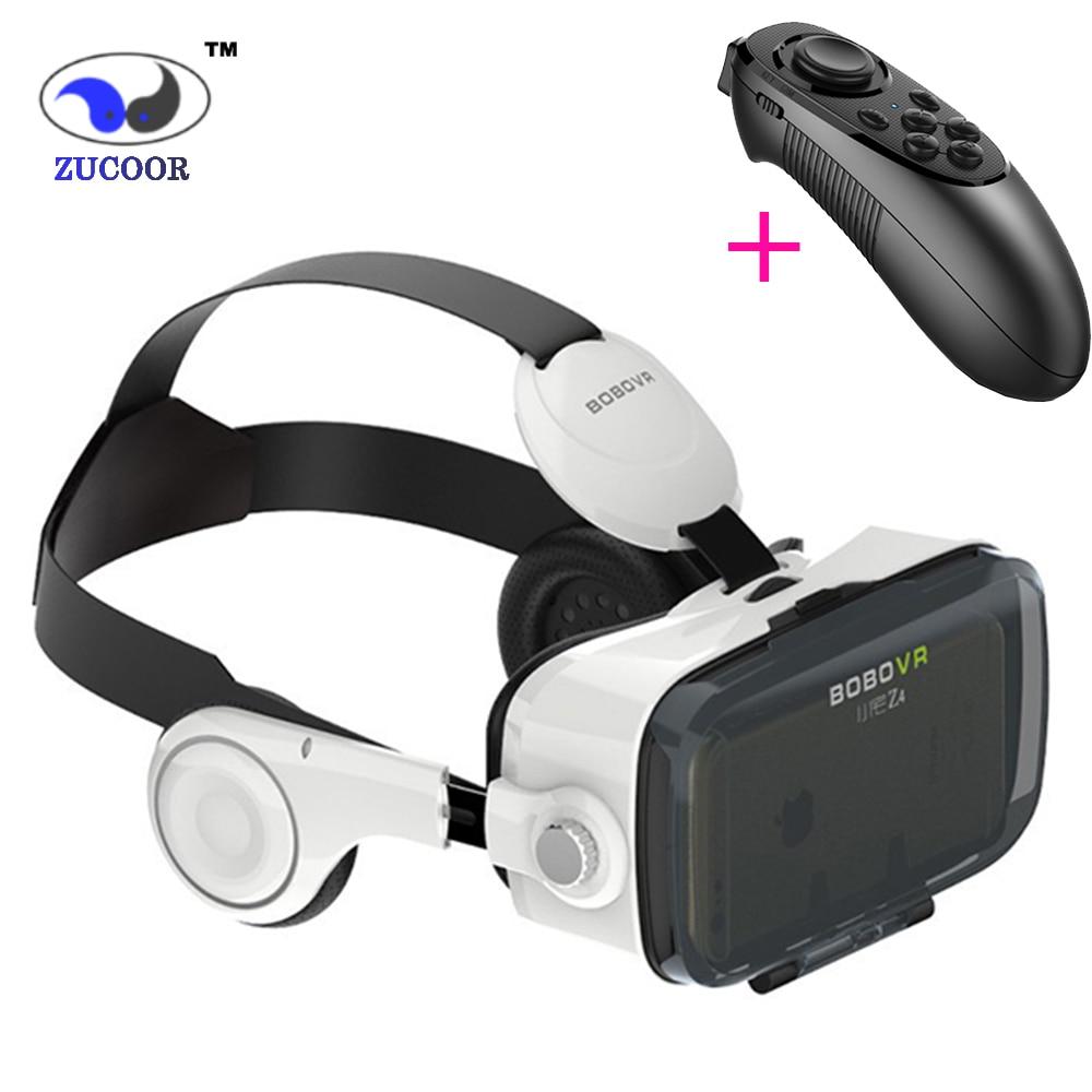 3D VR Gafas BOBO Caja Bobovr XiaoZhai Z4 de Realidad Virtual Google Cartón para