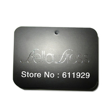 free shipping customized silver logo stamping printing hang tag/clothing glossy paper swing tag/garment label