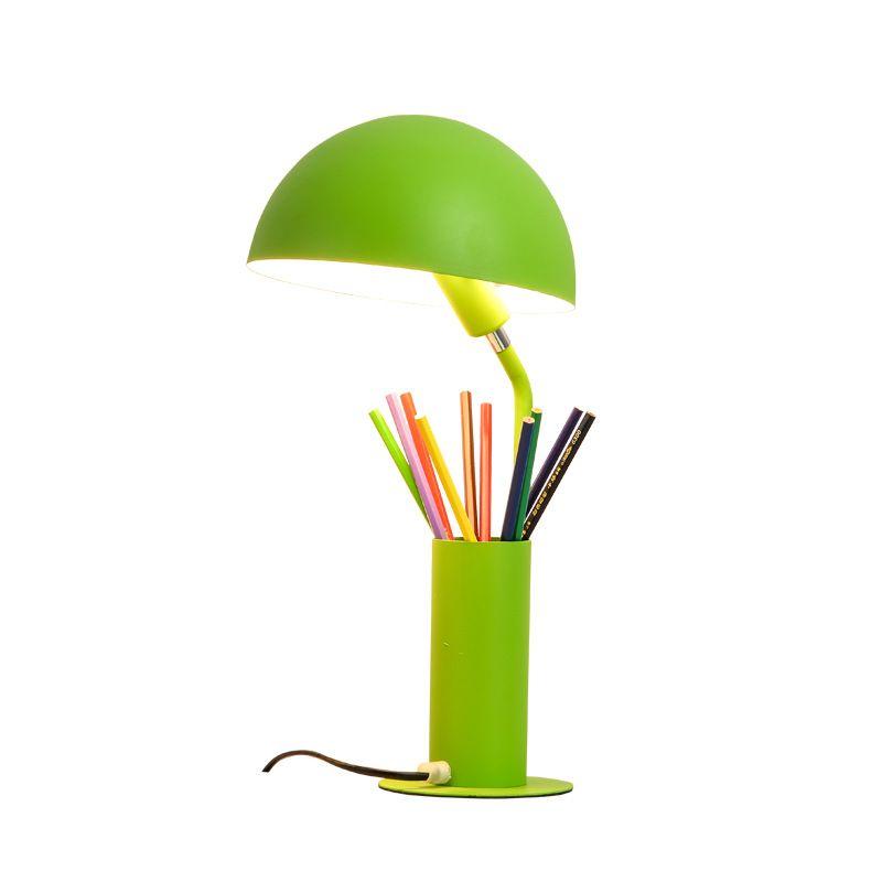 Цветная настольная абажур для лампы Luminaria de Mesa Lampara светодиодный Escritorio ручка контейнер для чтения Книжные огни Настольный E27 светодиодный Настольный светильник - 3