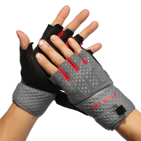DAY WOLF gloves Training fitness Weight lifting cycling Genuine Leather Palm Protection&Strong Grip Breathability&Comfort fit
