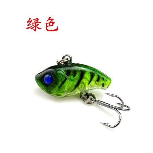 2.5g/2.5cm Super MINI hard minnow small crank lure baits fishing tackle Blank Resin minnow bait for winnter fishing