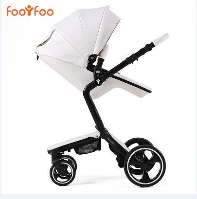 Роскошная детская коляска 2 в 1! Хит продаж! Прогулочный тип и люлька для новорожденных!  Бесплатная доставка!