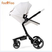 Luxury high landscape shock strollers can sit reclining stroller baby stroller two-way dual summer and w inter    free delivery