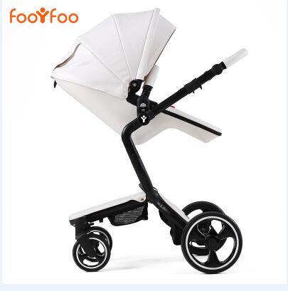 foofoo Luxury high landscape shock strollers can sit reclining stroller baby stroller two way dual summer