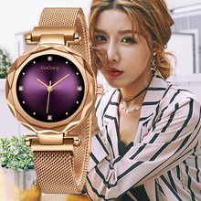 2019 New Fashion Ladies Watch Rose Gold Alloy Casing Waterproof Watches Top Luxury Brands  Casual Style Women Quartz Watch top plaza fashion women s alloy analog crystal watch rose gold tone