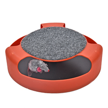 "Super fun ""Catch the Mouse"" cat toy"