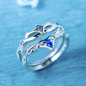 Ice Fantasy China costume fantasy drama 925 sterling silver ring official product