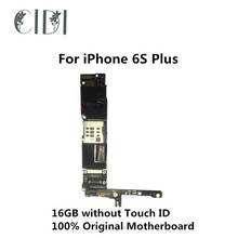 CIDI 16GB For iPhone 6S Plus Mainboard Used Original Unlocked Motherboard without Touch ID Function with Chips