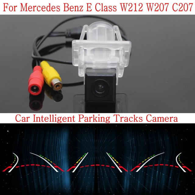 Car Intelligent Parking Tracks Camera FOR Mercedes Benz E Class W212 W207 C207 / HD Back up Reverse Camera / Rear View Camera