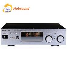 Nobsound PM5 Hi-Fi стерео Мощность усилитель NFC Беспроводной Bluetooth усилитель Поддержка USB CD DVD 80 Вт + 80 Вт Мощность серебряный