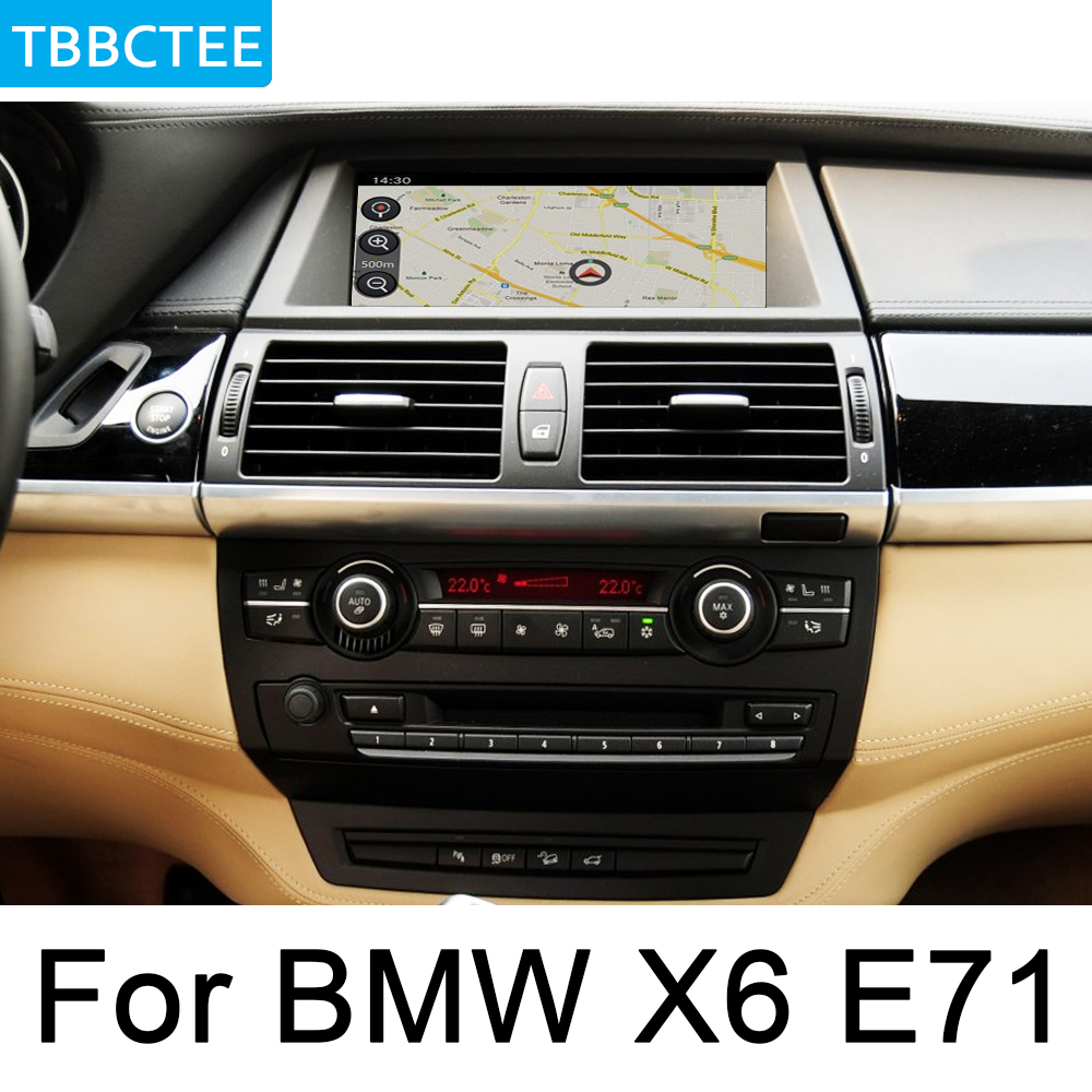 For BMW X6 E71 2011 2013 CIC Car Android Multimedia System 1080P IPS LCD Screen Radio Player GPS Navigation BT WiFi AUX HD in Car Multimedia Player from Automobiles Motorcycles