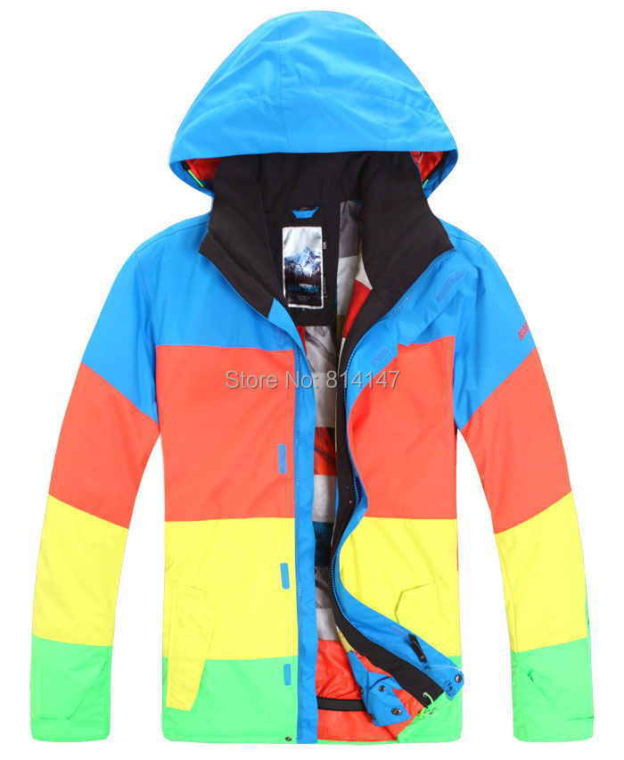 9de3198005 free shipping new style men s snowboarding jacket winter warm jacket men  cool waterproof windproof ski wear