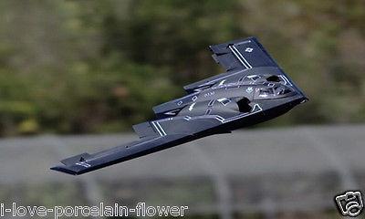 Escala SkyFlight LX B2 Bombardero Espíritu Doble 64 MM FED RC Airplane RTF W/Control Remoto