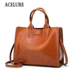 Bolsas de couro de alta qualidade para mulheres bolsa de ombro para senhoras