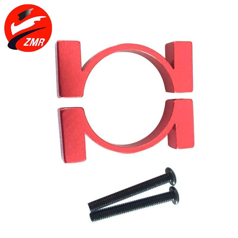 Zmr DIY четыре-шесть восемь оси D2.6 20 мм красный углерода трубы хомут Хооп модель Интимные аксессуары Алюминий делая клип RC части Drone Kit ...
