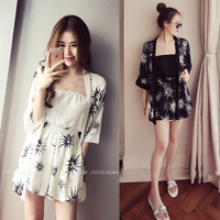 2019 summer women strapless playsuit striped rompers ruffles sleeve jumpsuit backless sexy overall casual short pants