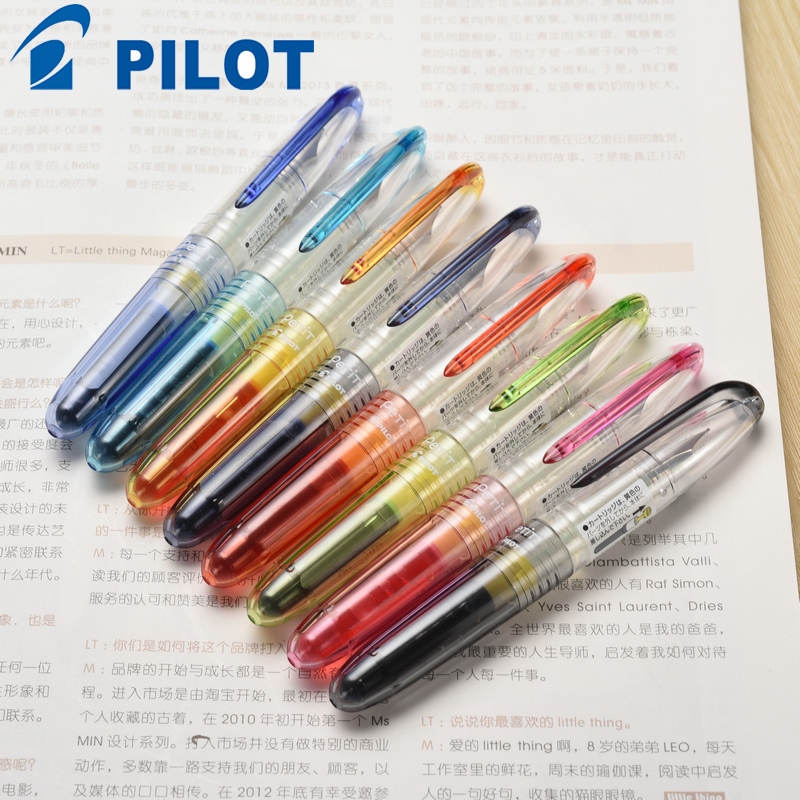 1PCS/LOT Stationery pilot archaeus small baile fountain pen transparent mini fountain pen spn-20f fountain pen цена