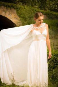Image 2 - เจ้าสาวอุปกรณ์เสริม Cloaks หมวกผู้หญิงชีฟองผ้าคลุมไหล่ 200 ซม.