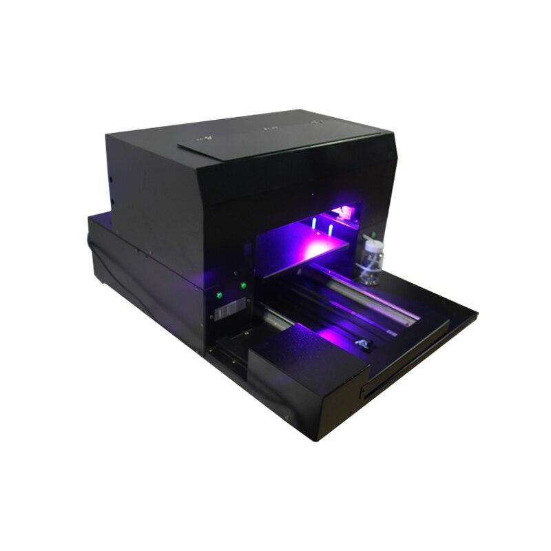 A3 taille UV lampe à led imprimante à plat pour stylo, coque de téléphone, verre, métal, céramique etc impression - 4